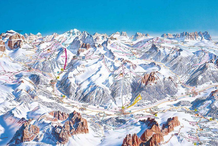 Alba di Canazei - Ciampac / Val di Fassa