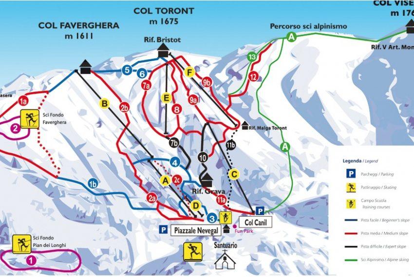 Alpe del Nevegal - Col Visentin