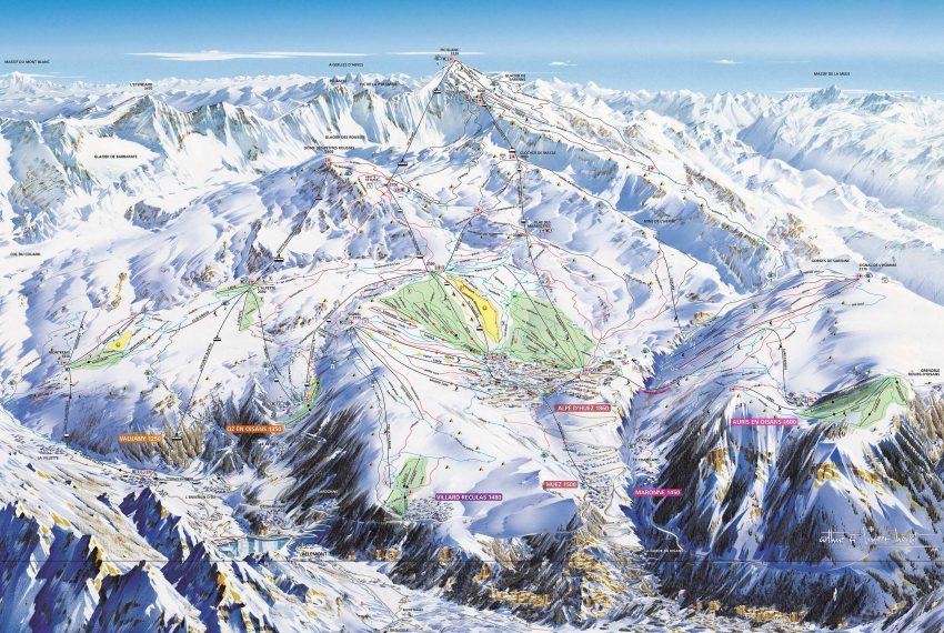 Auris en Oisans - Alpe d'Huez Grand Domaine