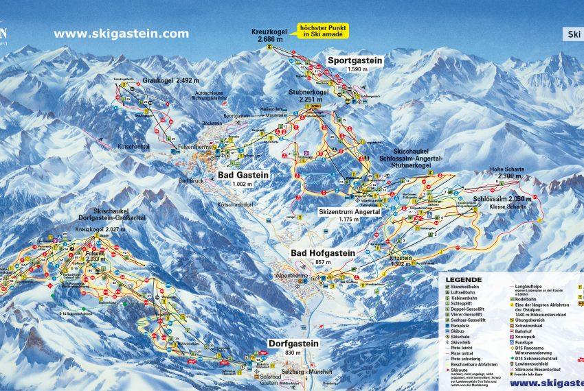 Bad Hofgastein - Ski amade