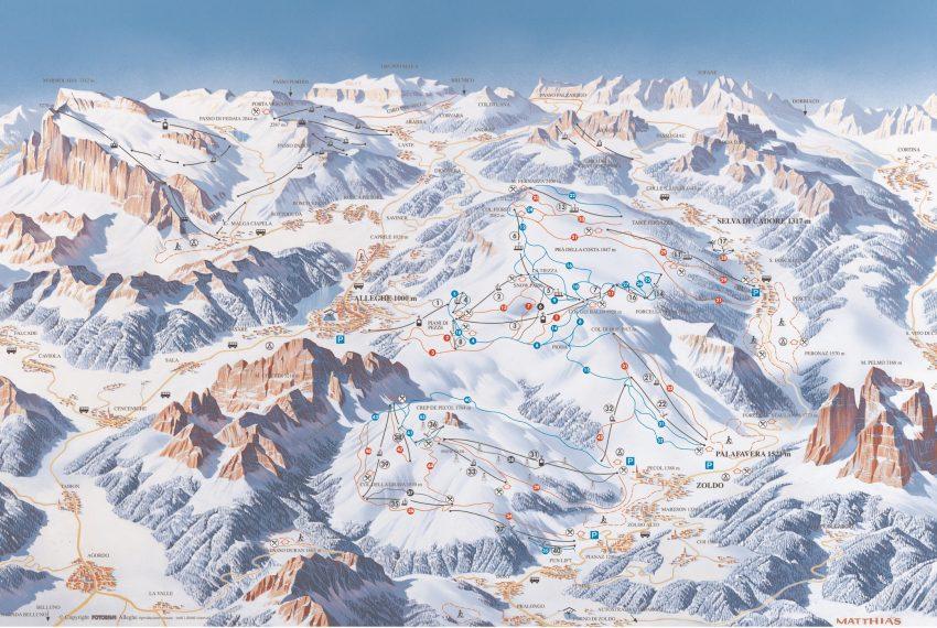 Civetta - Alleghe - Selva di Cadore - Val di Zoldo
