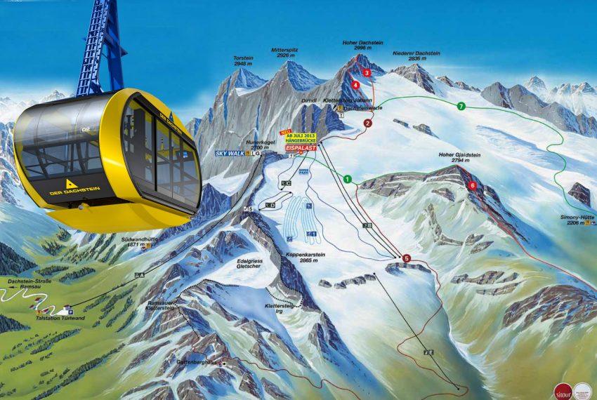 Dachstein Gletscher Schladming Ramsau - Ski amade