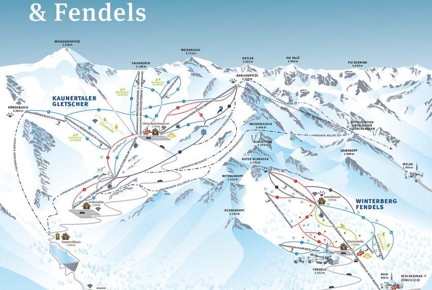 Fendels - Ried - Prutz