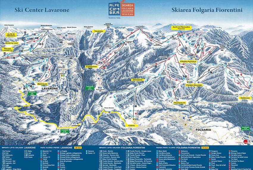 Folgaria - Fiorentini / Alpe Cimbra