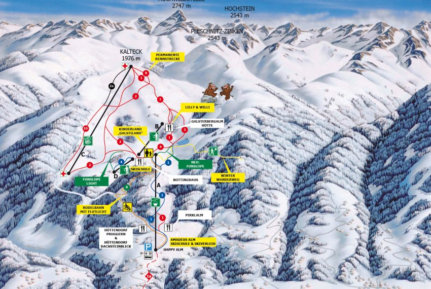 Galsterbergalm / Schladming - Ski amade