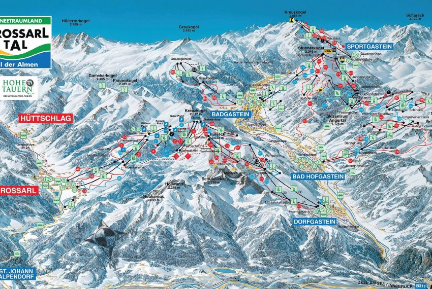Großarl Tal - Ski amade