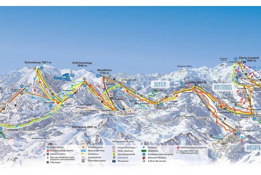 Hochkönig / Maria Alm - Dienten - Mühlbach - Ski amade