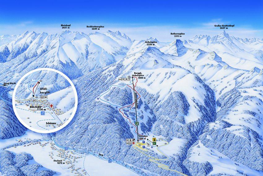 Jöchelspitze - Lechtaler Bergbahnen