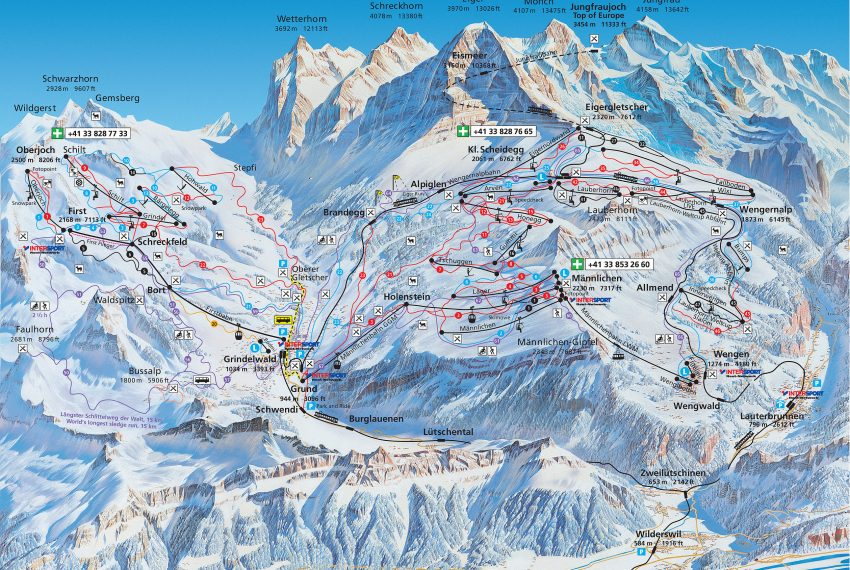 Jungfrau-Ski-Region-Grindelwald-Wengen