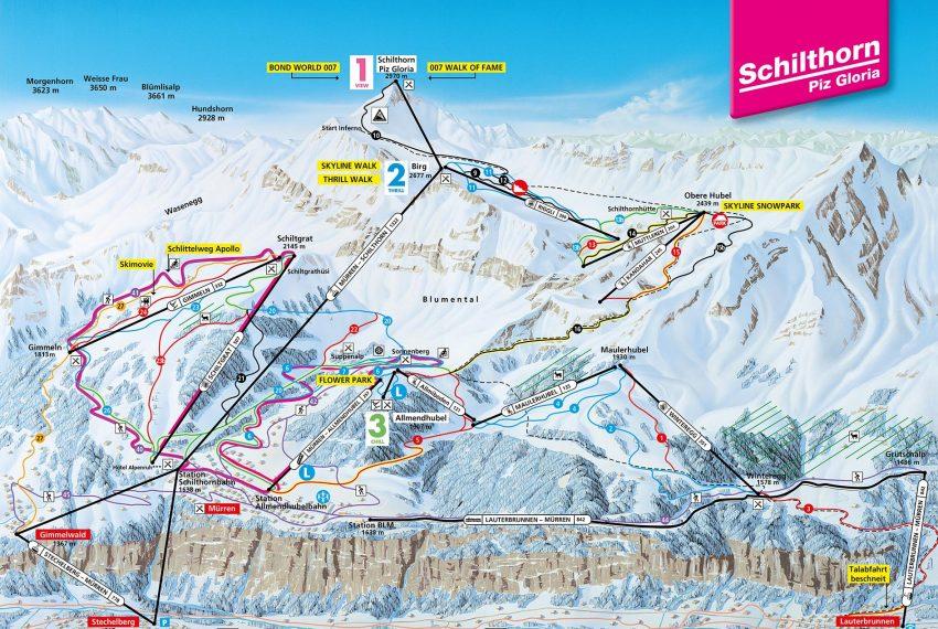 Jungfrau Ski Region Mürren - Schilthorn