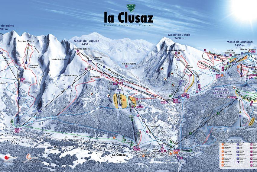 La Clusaz - Lake Annecy Ski Resort