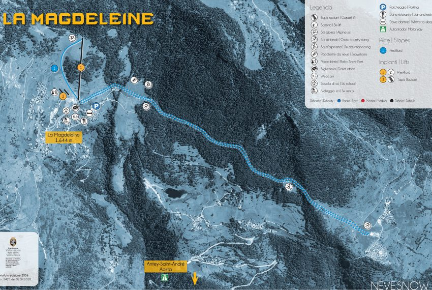 La Magdeleine / Aosta Tal