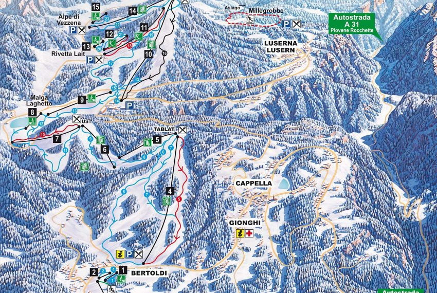 Lavarone - Luserna / Alpe Cimbra
