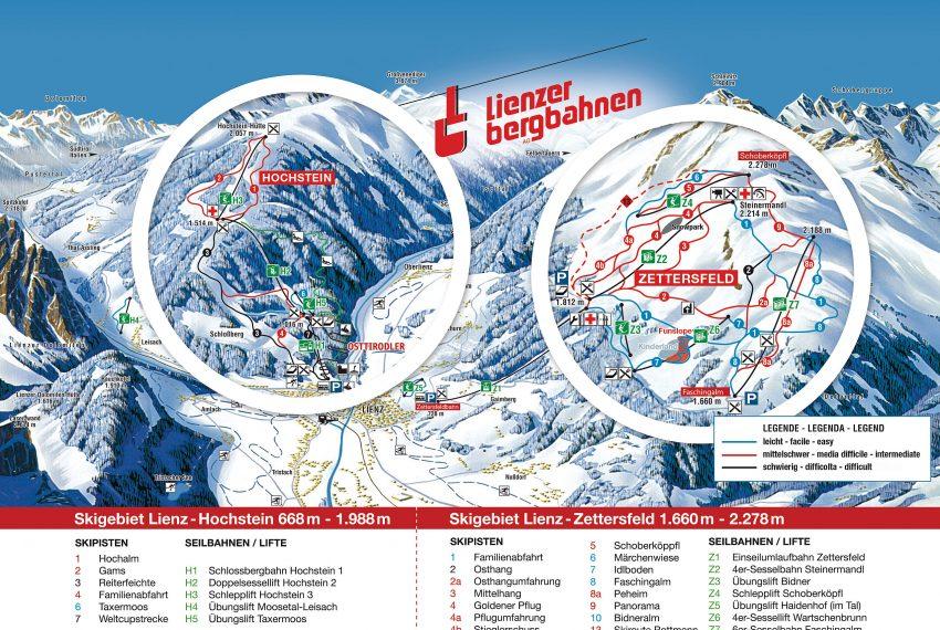 Lienzer Bergbahnen - Zettersfeld/Hochstein