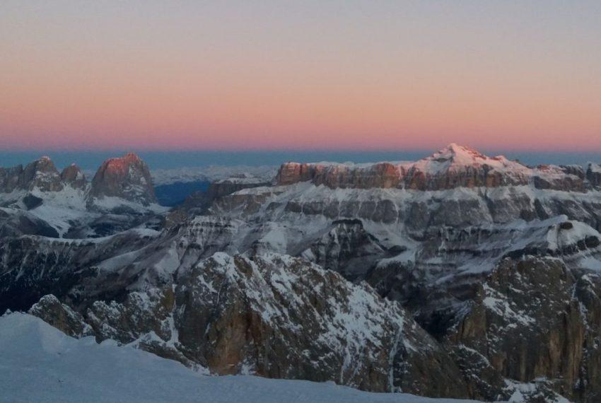 Marmolada Gletscher