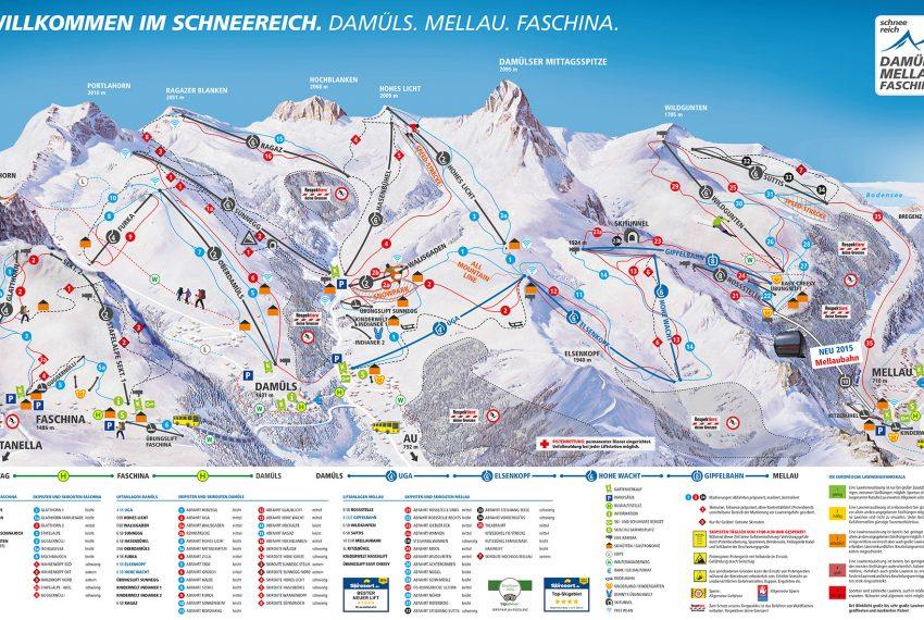 Mellau - Damüls - Faschina Skischaukel