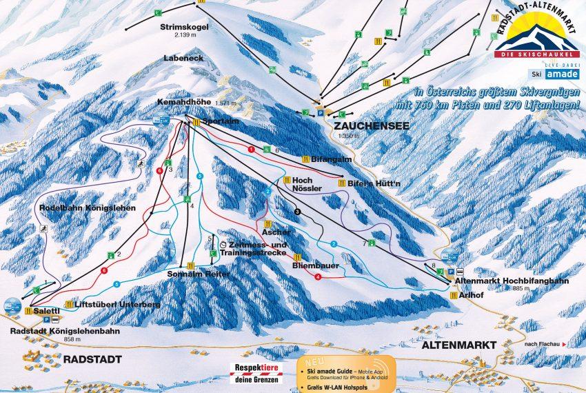 Radstadt - Altenmarkt - Ski amade