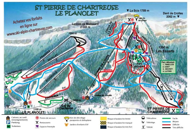 Saint Pierre de Chartreuse - Le Planolet