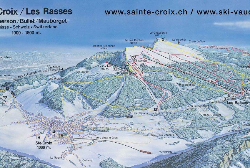 Sainte Croix - Les Rasses