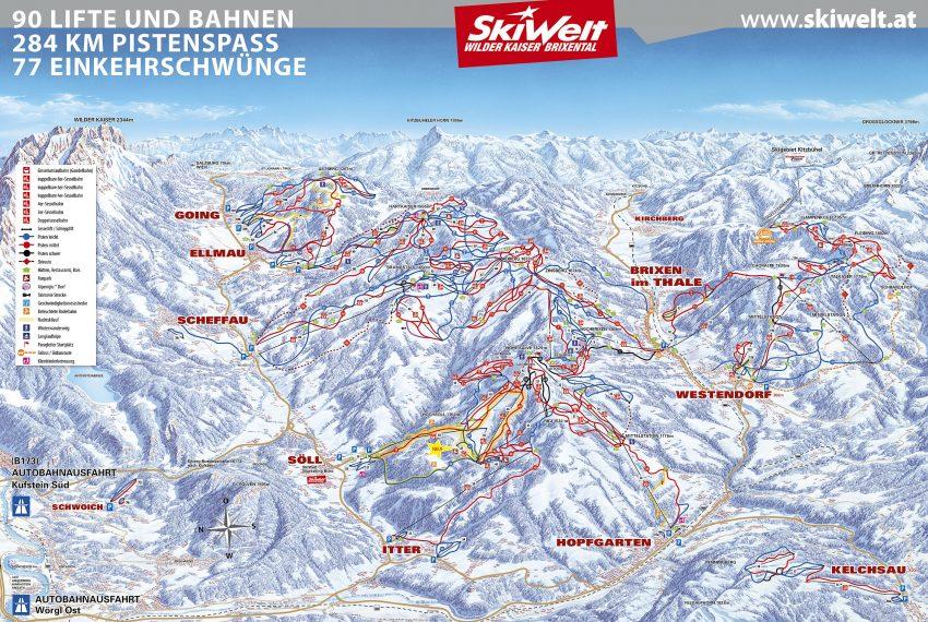 Scheffau - SkiWelt