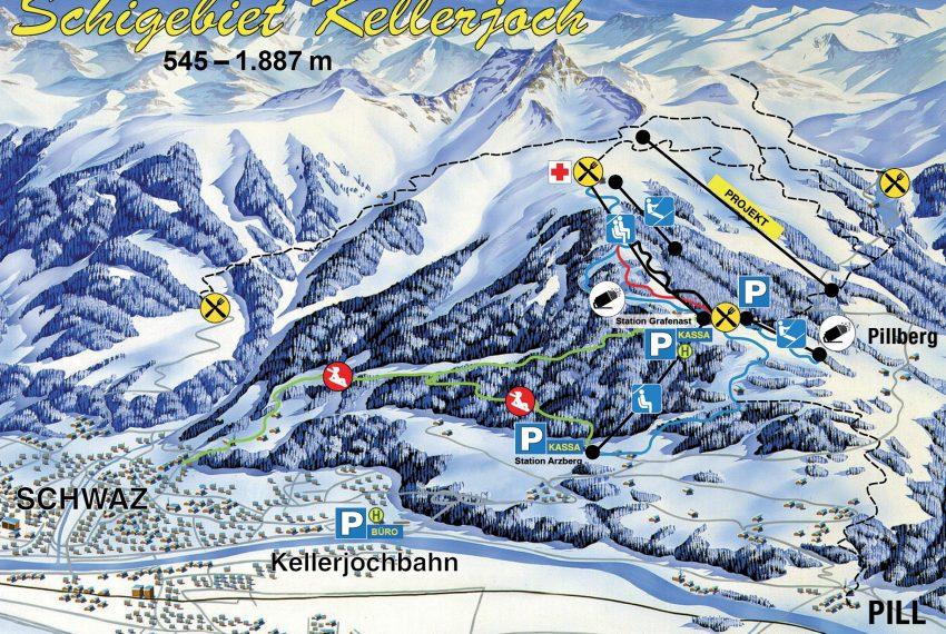 Schwaz-Pill - Kellerjochbahn