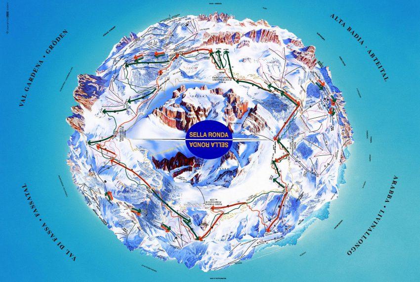 Sellaronda - Dolomiten