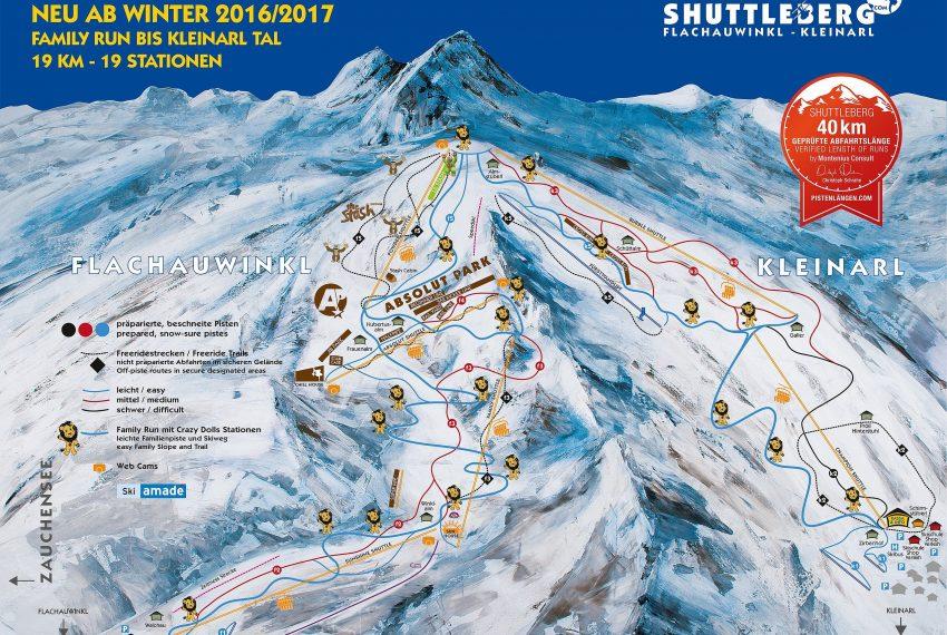 Shuttleberg Flachauwinkl-Kleinarl - Ski amade