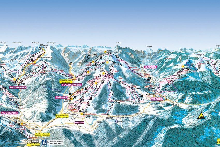 St. Johann - Alpendorf - Ski amade
