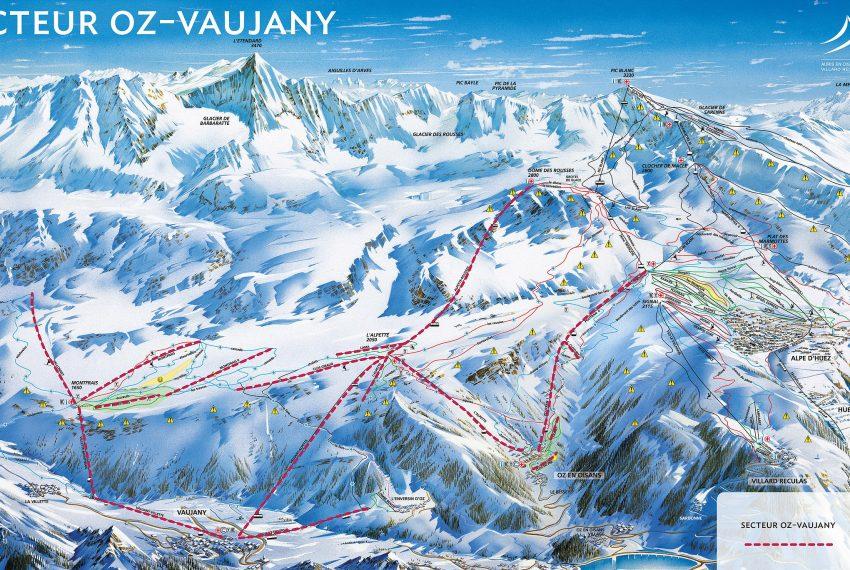Vaujany - Alpe d'Huez Grand Domaine