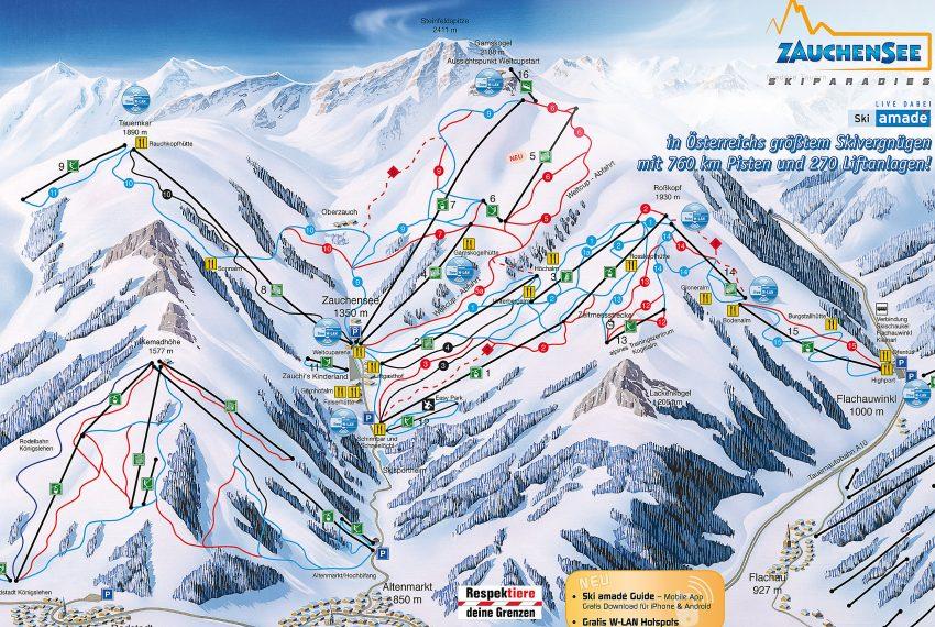 Zauchensee - Flachauwinkl - Ski amade