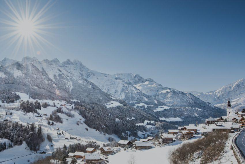 Val-dIlliez - Les Crosets - Champoussin / Portes du Soleil